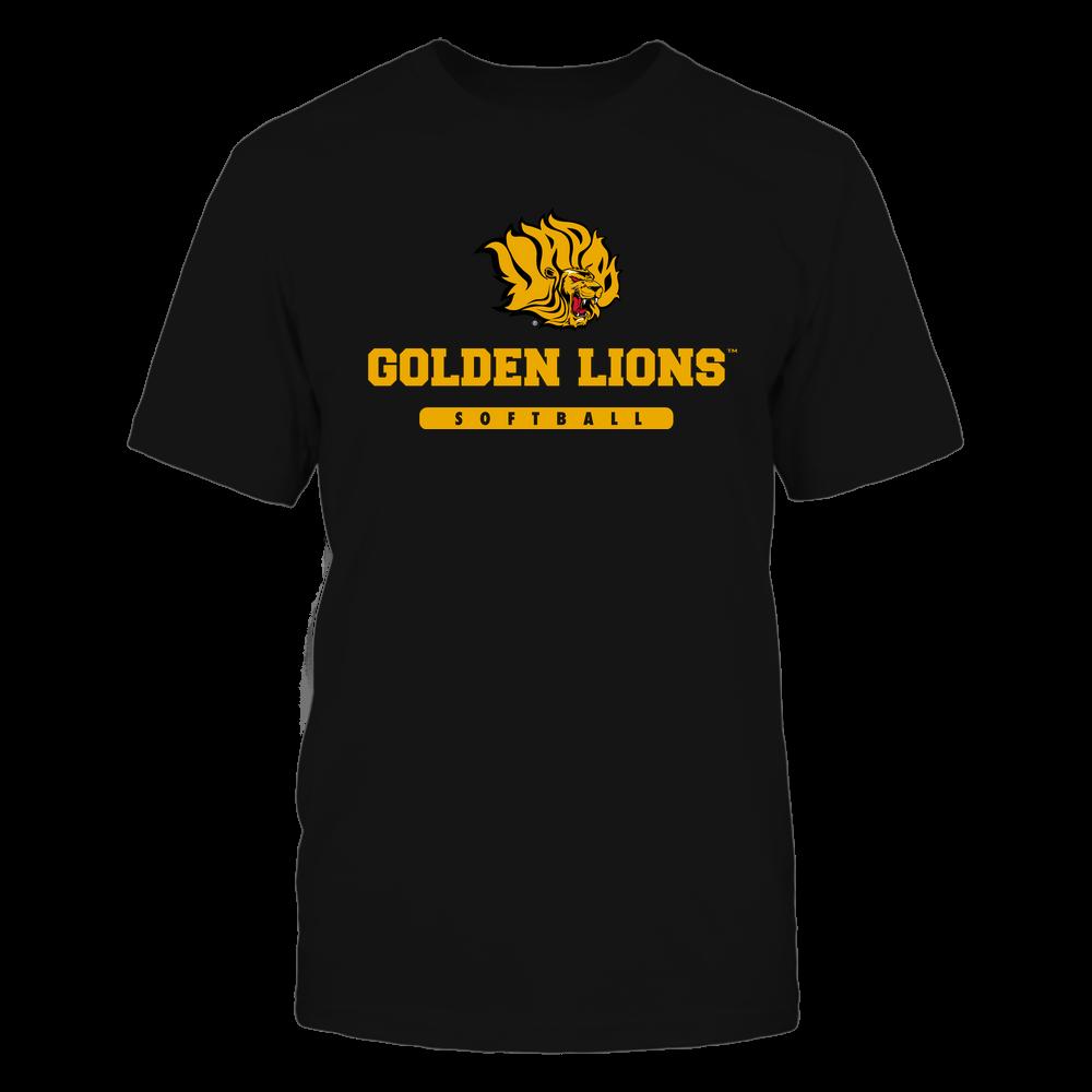 Arkansas Pine Bluff Golden Lions - Mascot - Logo - Softball Front picture
