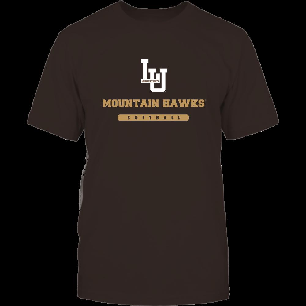 Lehigh Mountain Hawks - Mascot - Logo - Softball Front picture