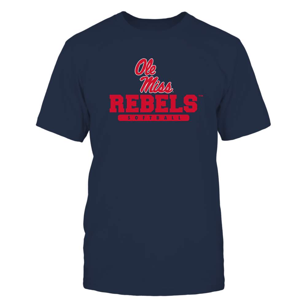 Ole Miss Rebels - Mascot - Logo - Softball Front picture