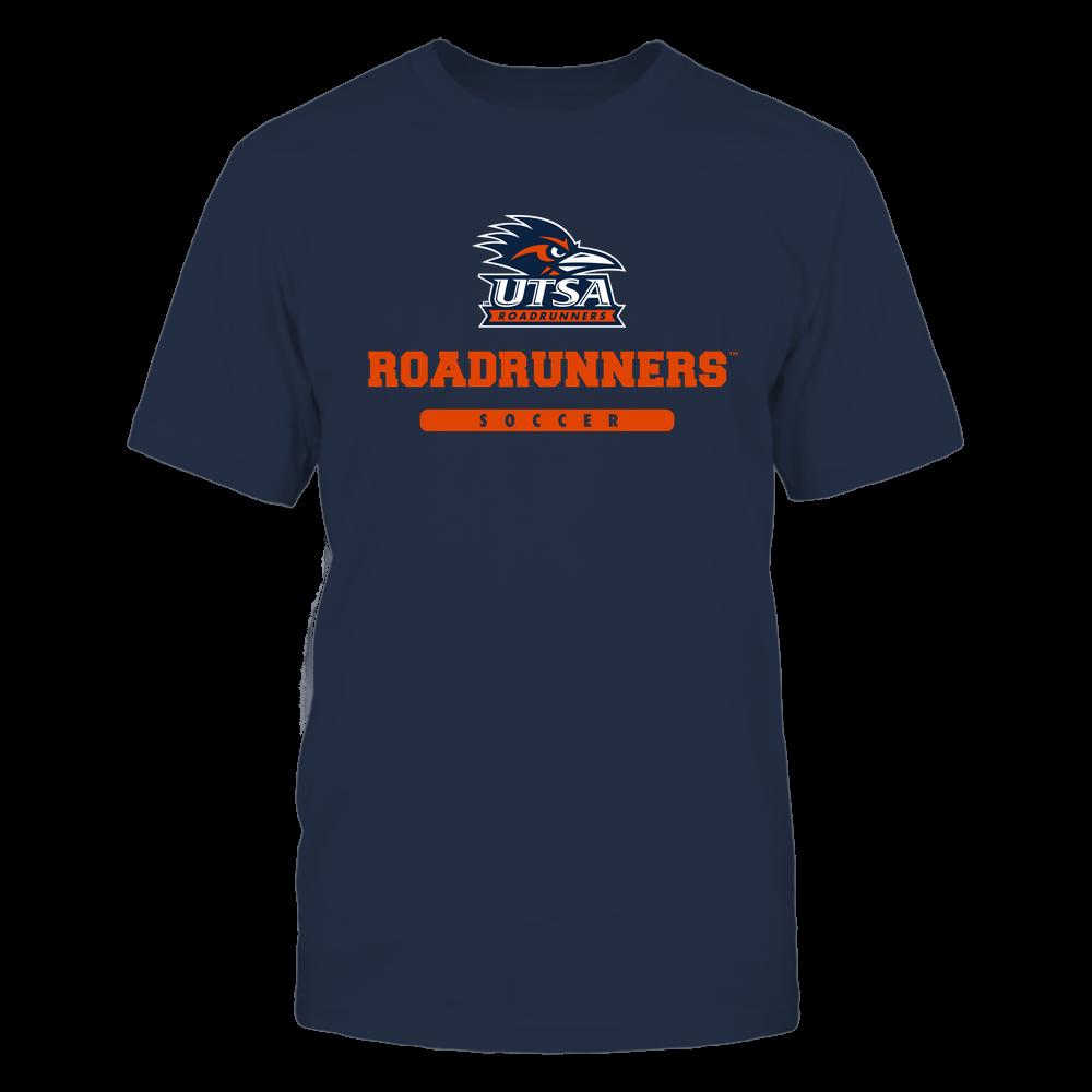 UTSA Roadrunners - Mascot - Logo - Soccer Front picture