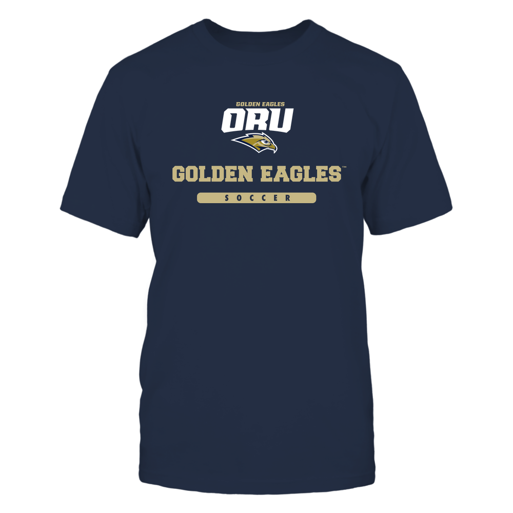 Oral Roberts Golden Eagles - Mascot - Logo - Soccer Front picture