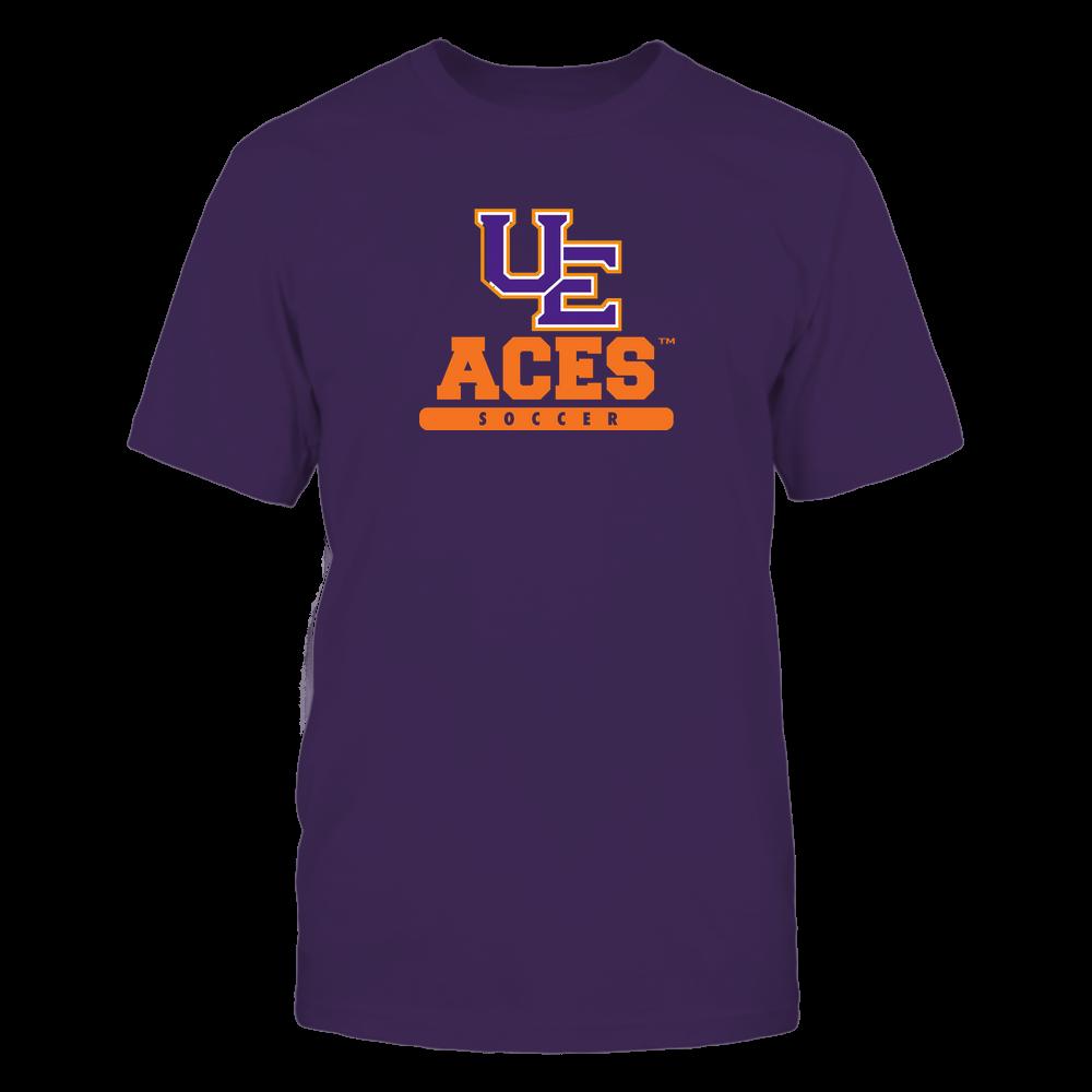 Evansville Purple Aces - Mascot - Logo - Soccer Front picture