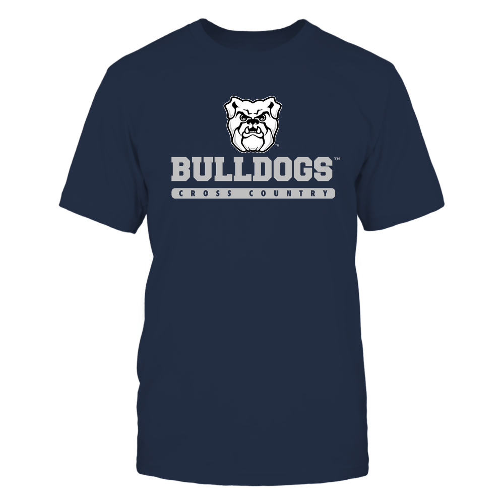 Butler Bulldogs - Mascot - Logo - Cross Country Front picture