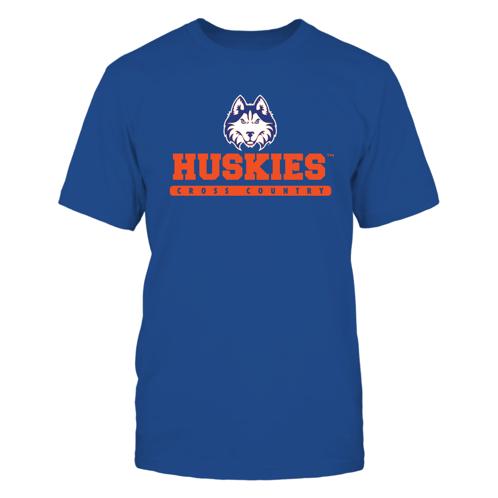 Houston Baptist Huskies - Mascot - Logo - Cross Country Front picture