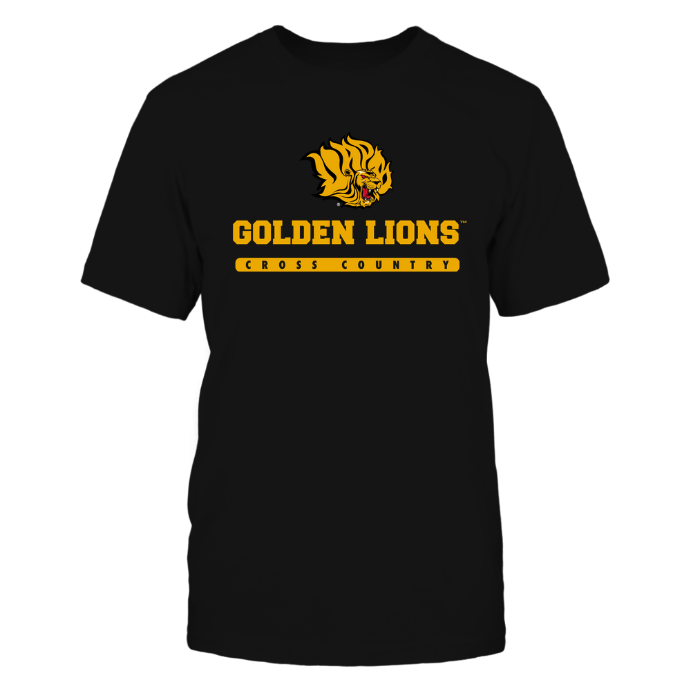 Arkansas Pine Bluff Golden Lions - Mascot - Logo - Cross Country Front picture