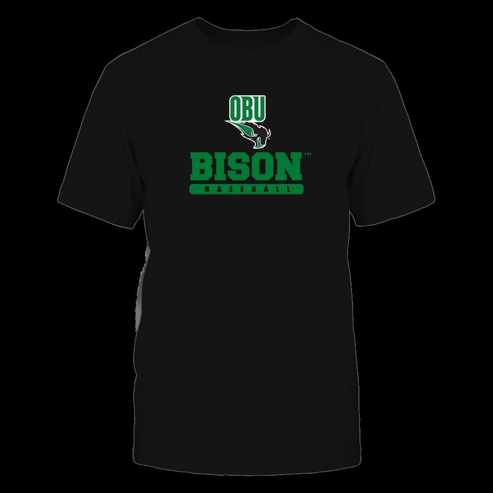 Oklahoma Baptist Bison - Mascot - Logo - Baseball Front picture