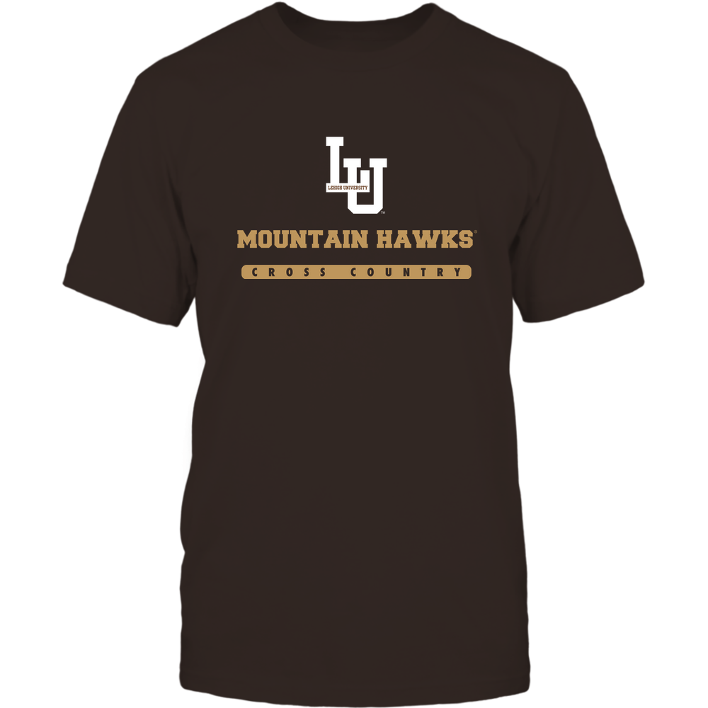 Lehigh Mountain Hawks - Mascot - Logo - Cross Country Front picture