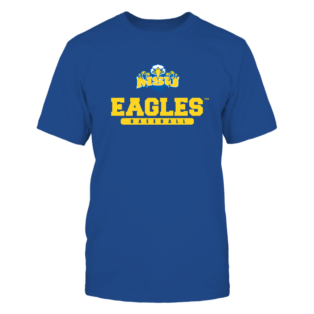 Morehead State Eagles - Mascot - Logo - Baseball Front picture