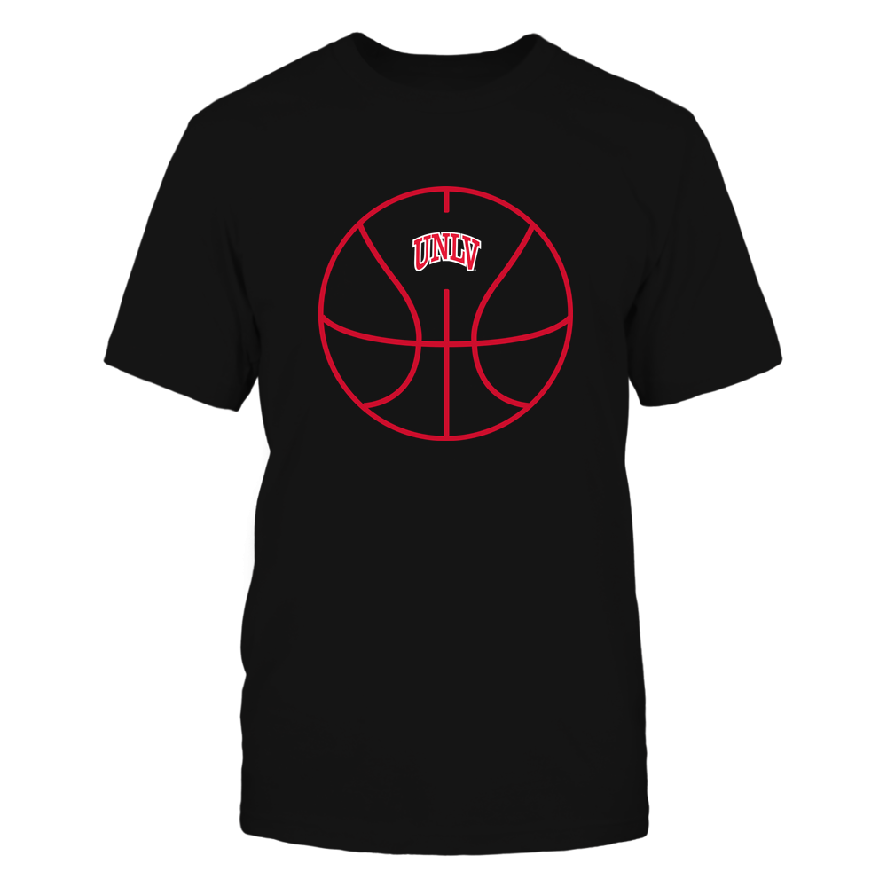 UNLV Rebels - Basketball - Ball Outline Front picture