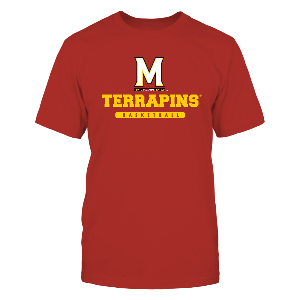 Maryland Terrapins - Mascot - Logo - Basketball Front picture