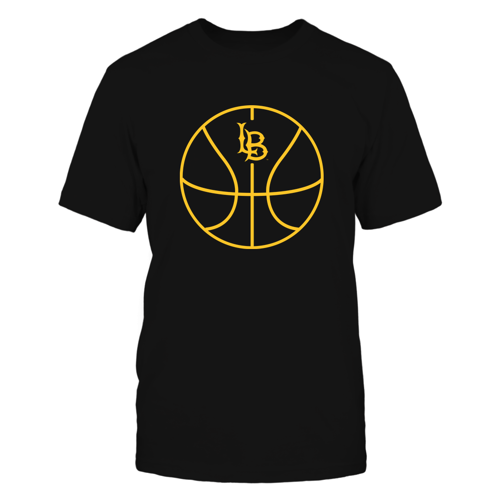 Long Beach State 49ers - Basketball - Ball Outline Front picture