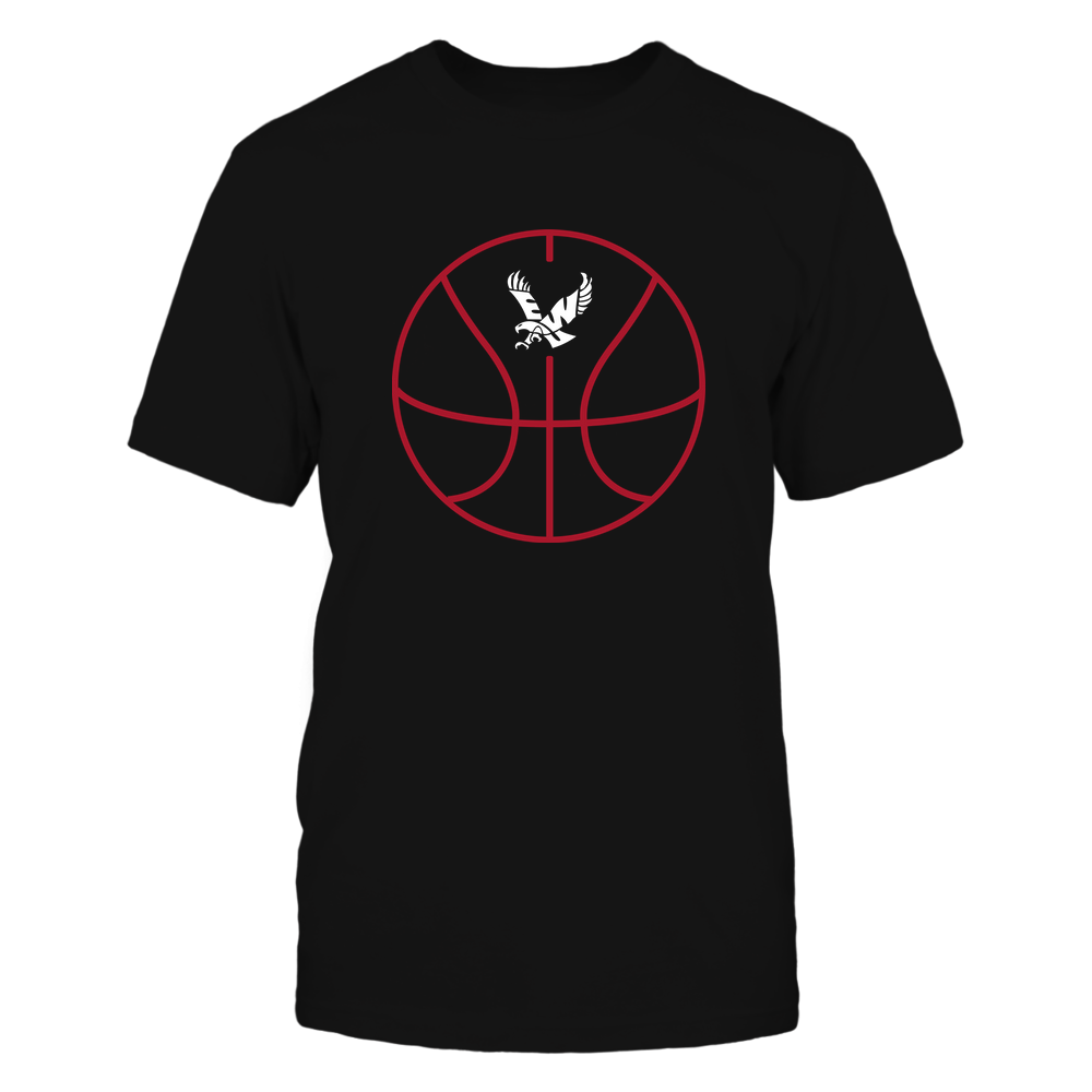 Eastern Washington Eagles - Basketball - Ball Outline Front picture