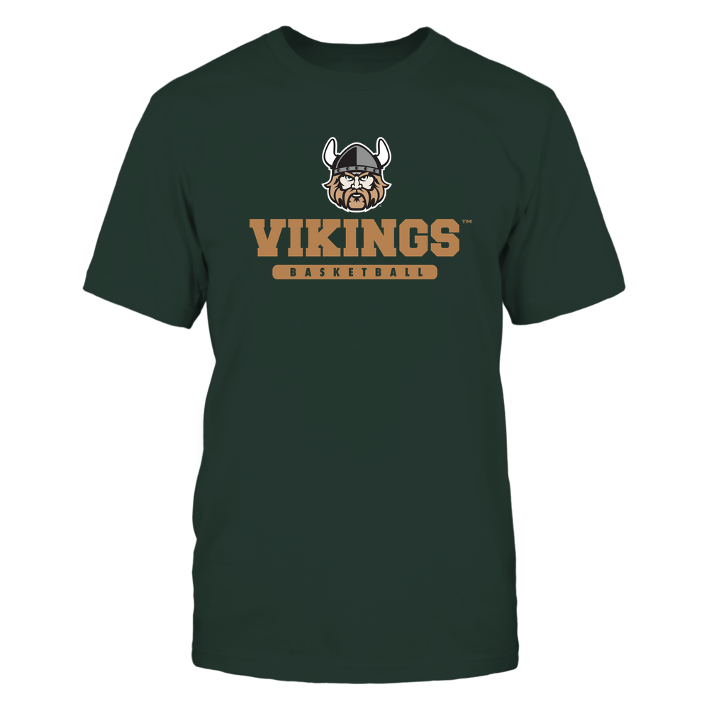Cleveland State Vikings - Mascot - Logo - Basketball Front picture