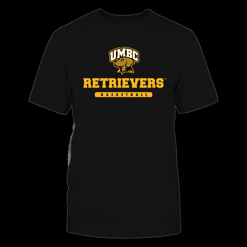 UMBC Retrievers - Mascot - Logo - Basketball Front picture