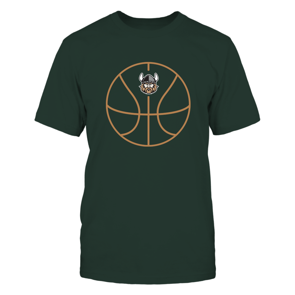 Cleveland State Vikings - Basketball - Ball Outline Front picture