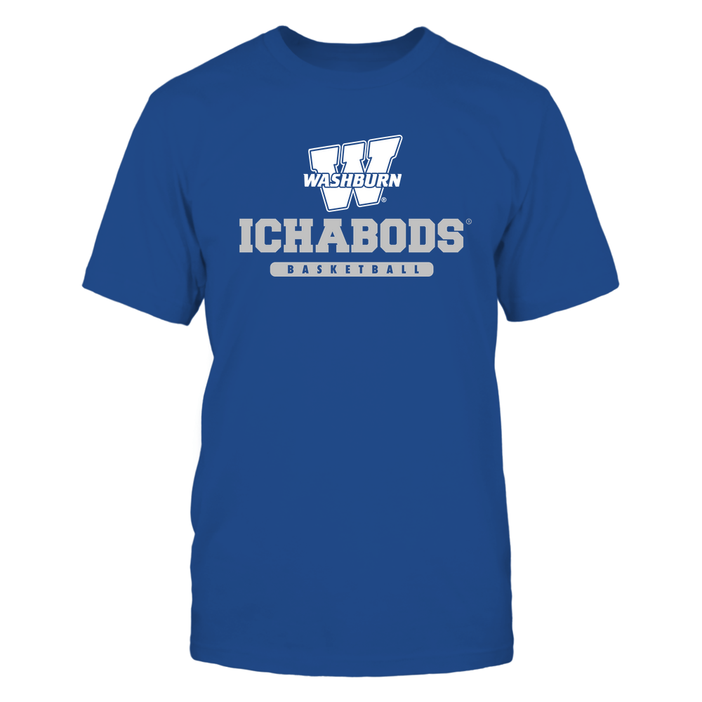 Washburn Ichabods - Mascot - Logo - Basketball Front picture