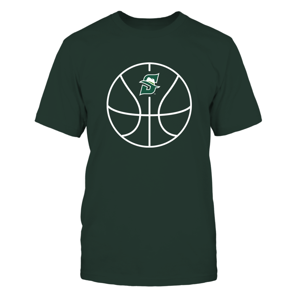 Stetson Hatters - Basketball - Ball Outline Front picture