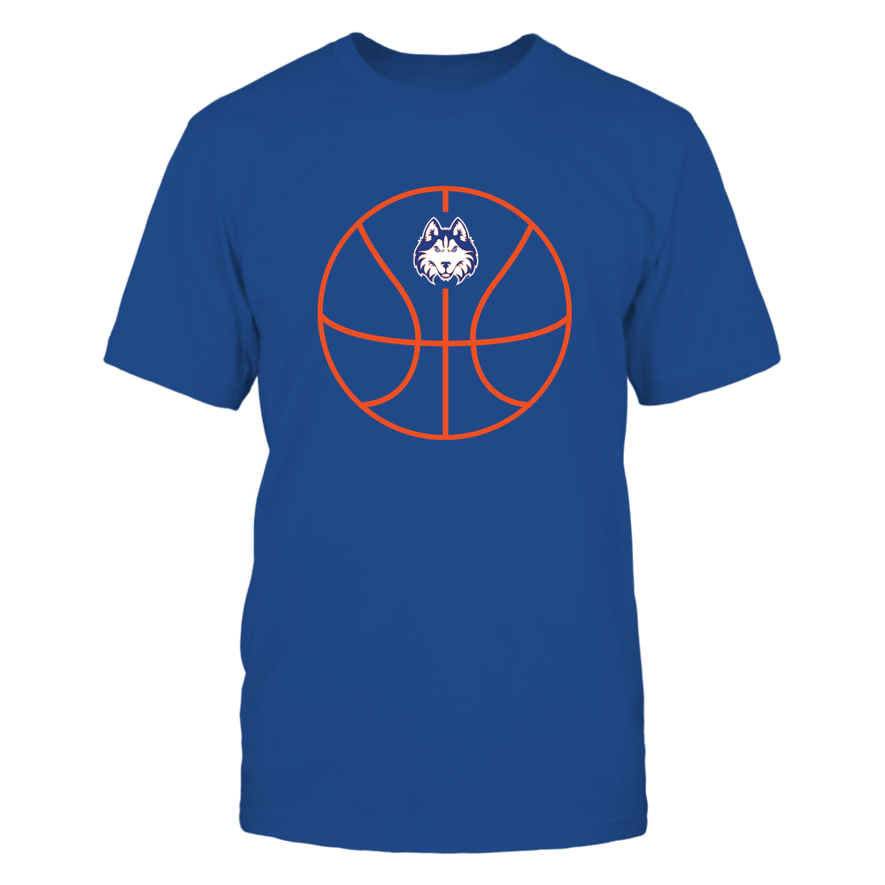 Houston Baptist Huskies - Basketball - Ball Outline Front picture