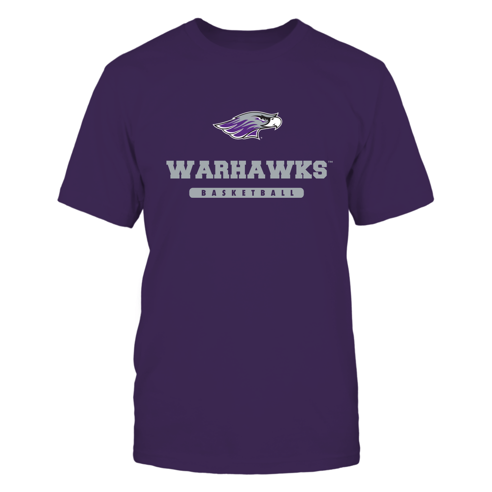 Wisconsin-Whitewater Warhawks - Mascot - Logo - Basketball Front picture
