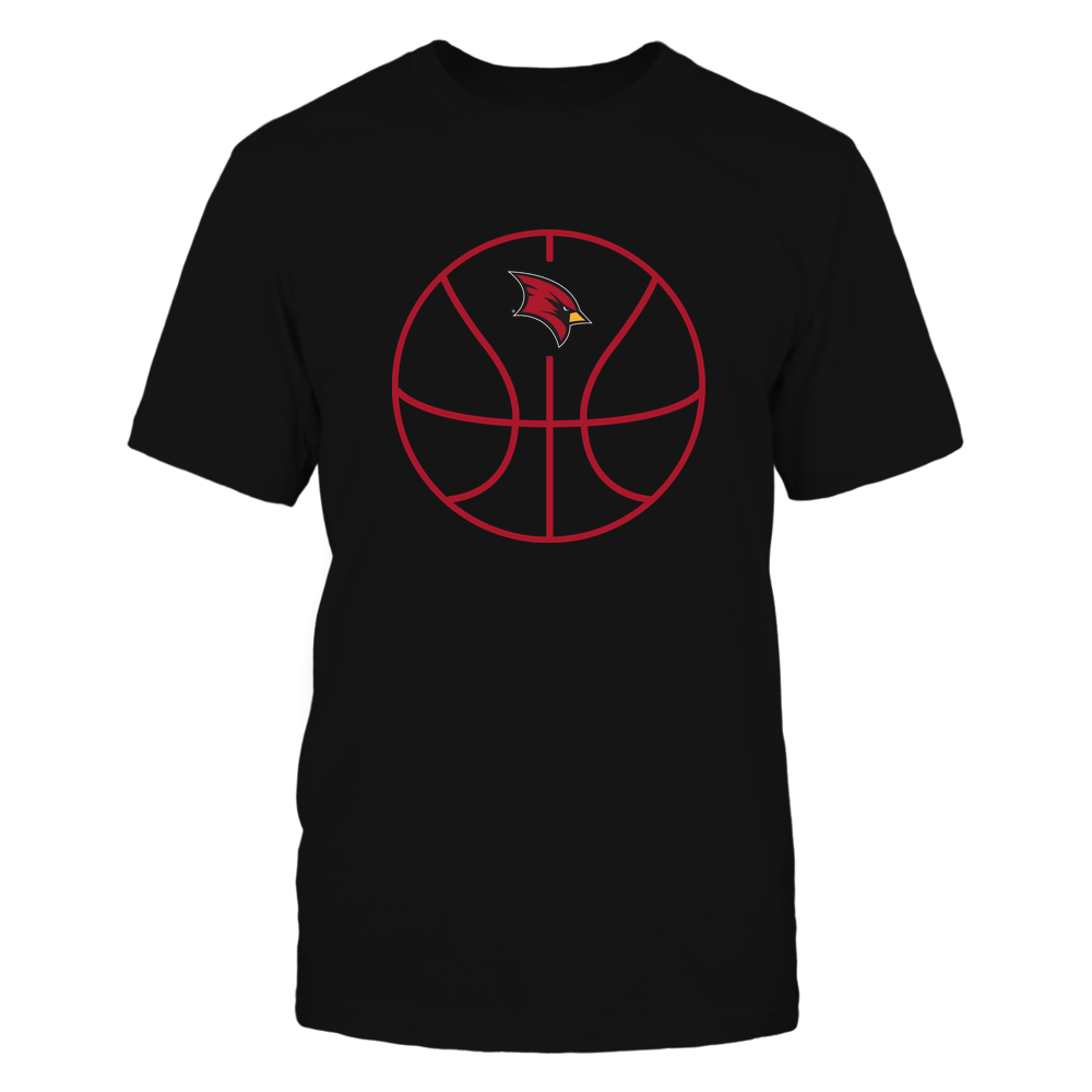 Saginaw Valley State Cardinals - Basketball - Ball Outline Front picture