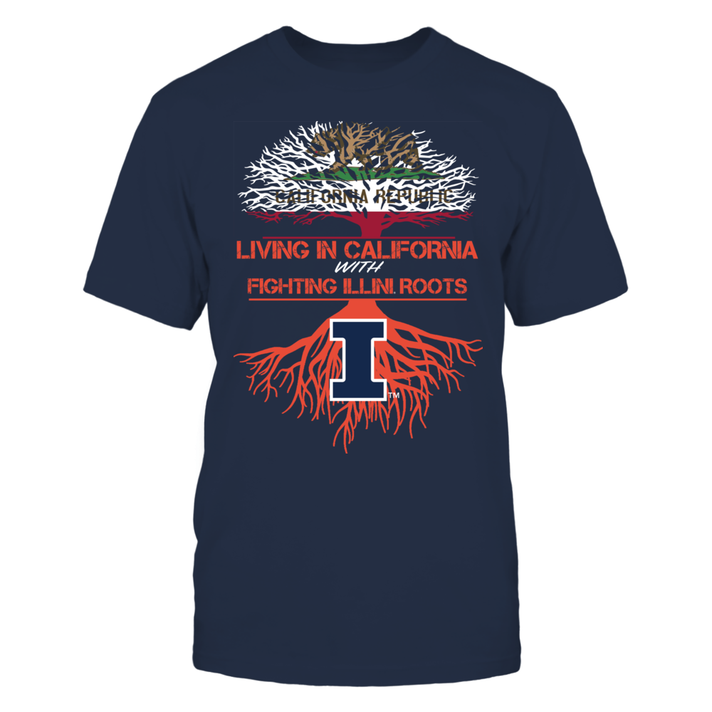 Illinois Fighting Illini - Living Roots California Front picture