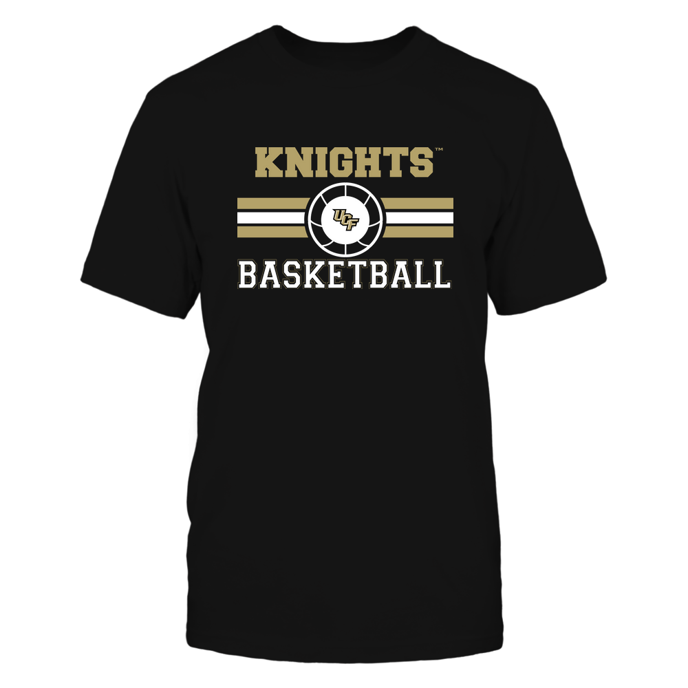 UCF Knights - Basketball - Center Logo - Retro Stripes Front picture