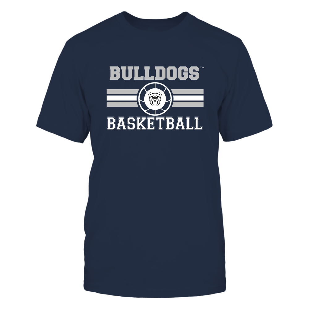Butler Bulldogs - Basketball - Center Logo - Retro Stripes Front picture