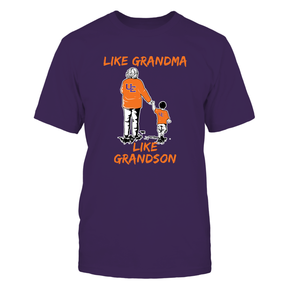 Evansville Purple Aces - Like Grandma Like Grandson Front picture