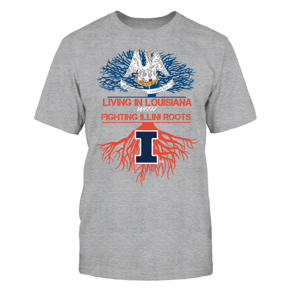 Illinois Fighting Illini - Living Roots Louisiana Front picture