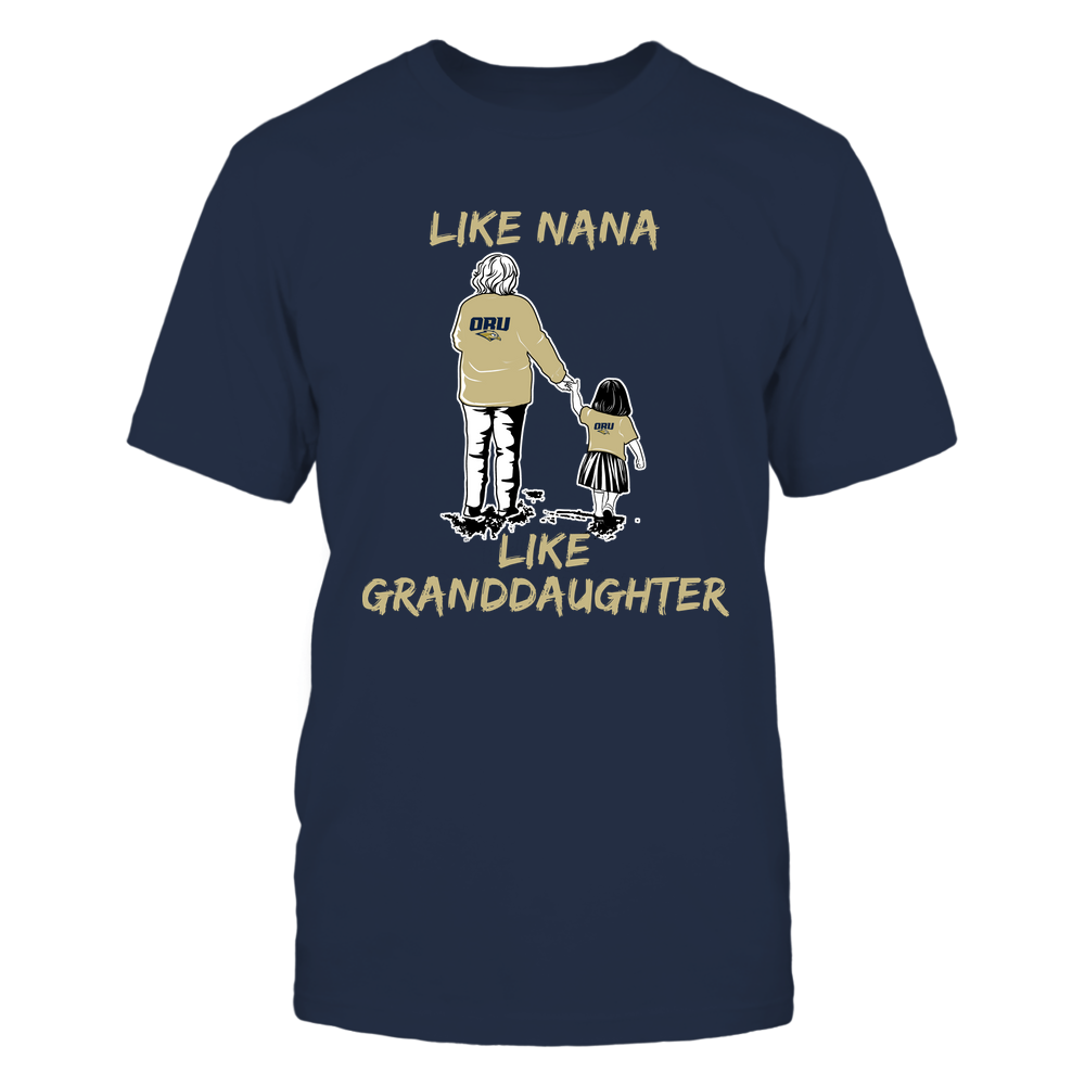 Oral Roberts Golden Eagles - Like Nana Like Granddaughter Front picture