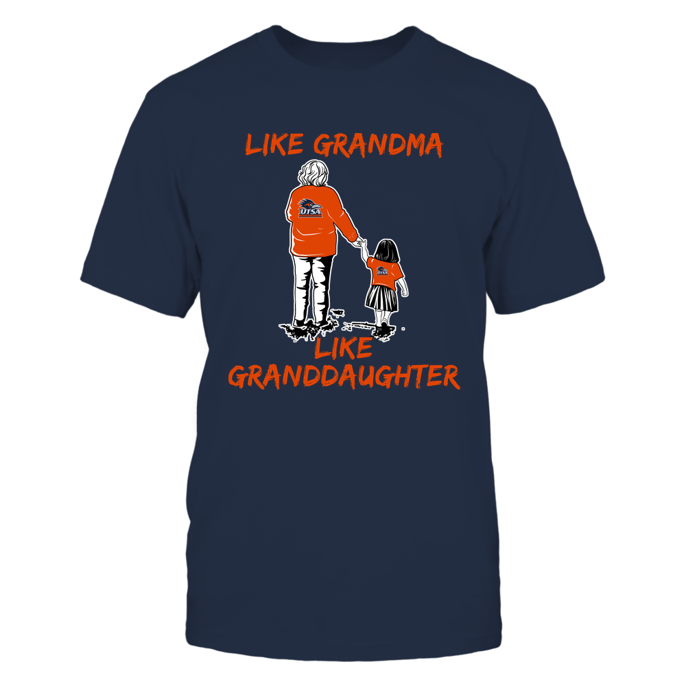 UTSA Roadrunners - Like Grandma Like Granddaughter Front picture
