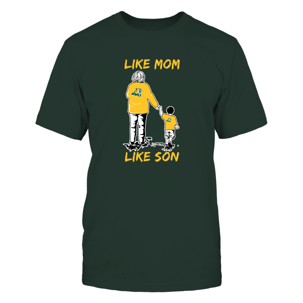 Northern Michigan Wildcats - Like Mom Like Son Front picture