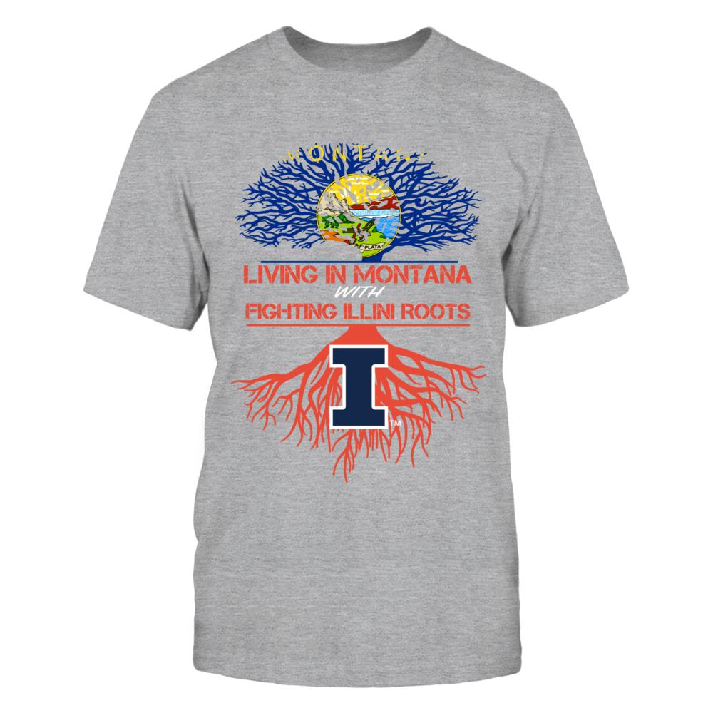 Illinois Fighting Illini - Living Roots Montana Front picture
