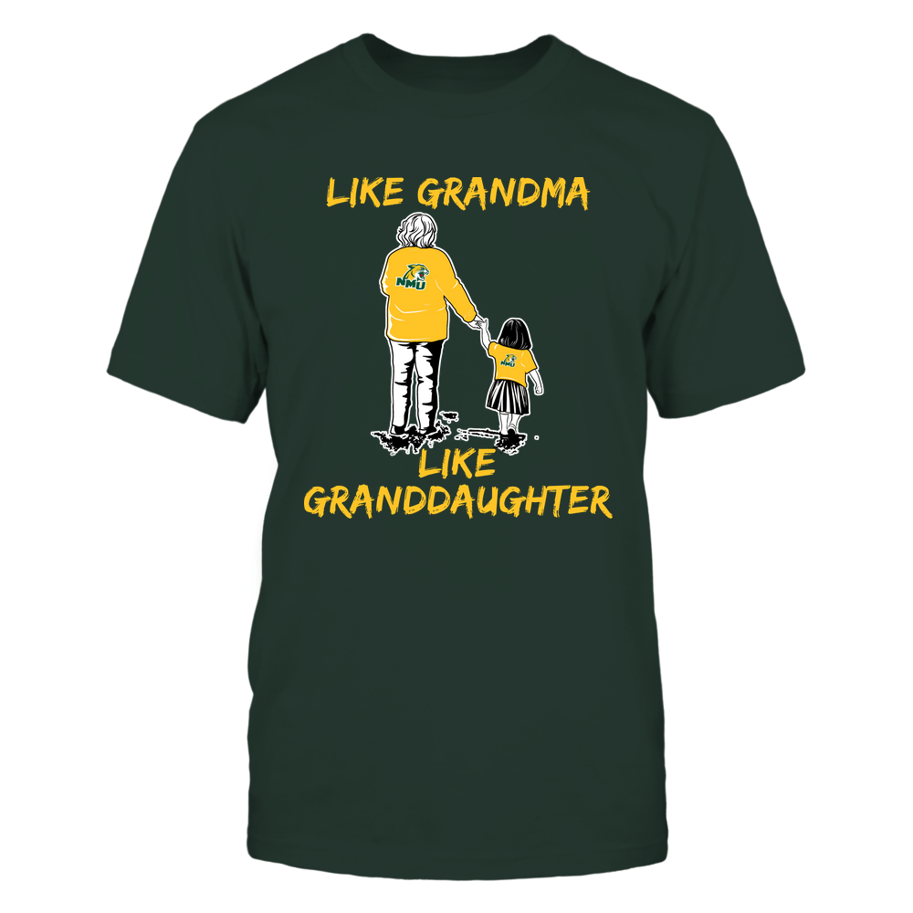 Northern Michigan Wildcats - Like Grandma Like Granddaughter Front picture
