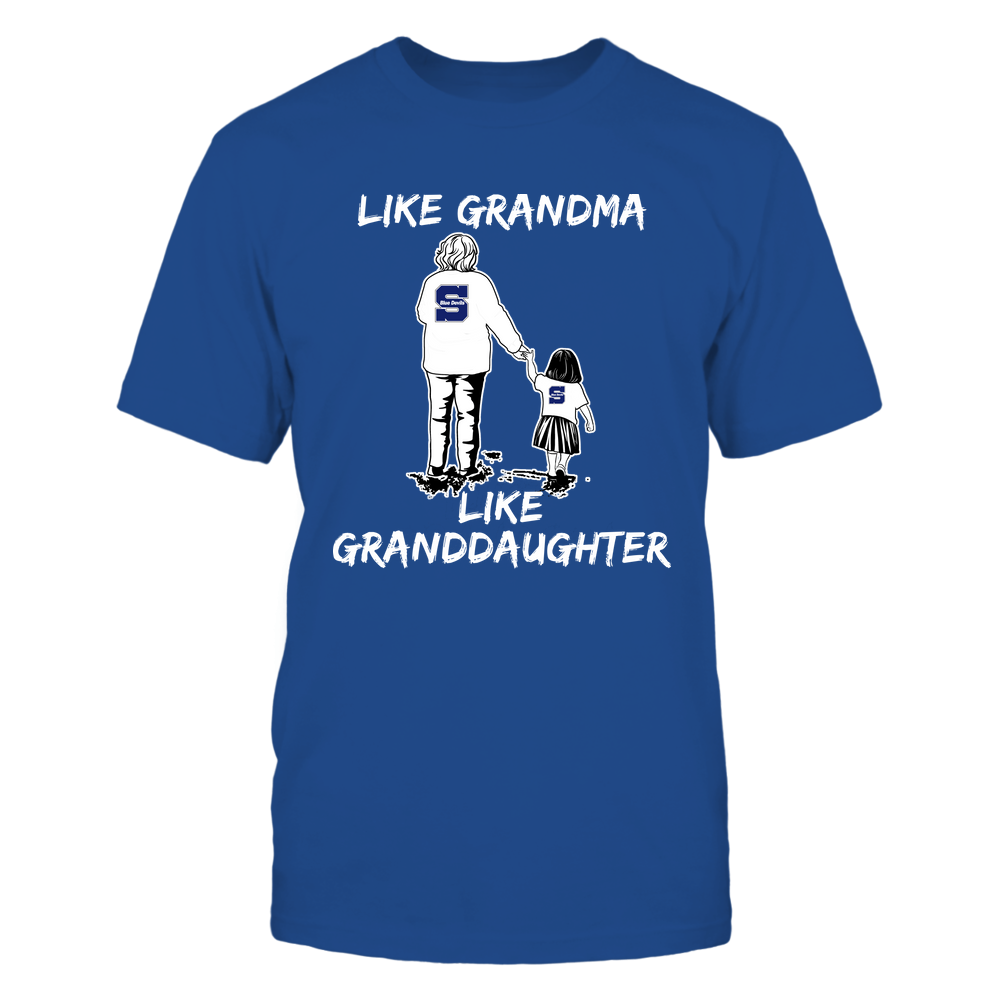 Wisconsin Stout Blue Devils - Like Grandma Like Granddaughter Front picture