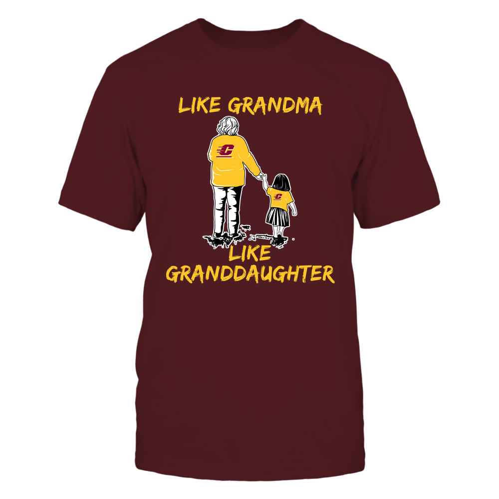 Central Michigan Chippewas - Like Grandma Like Granddaughter Front picture