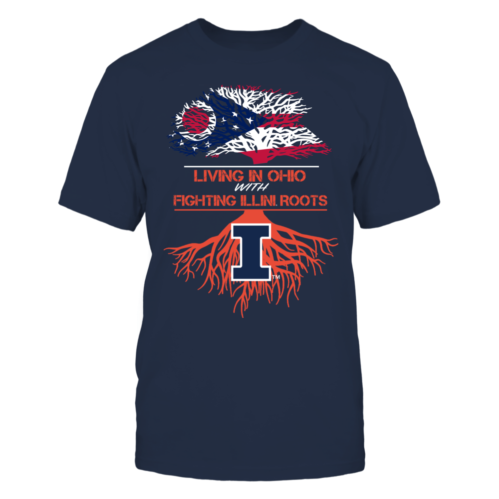 Illinois Fighting Illini - Living Roots Ohio Front picture