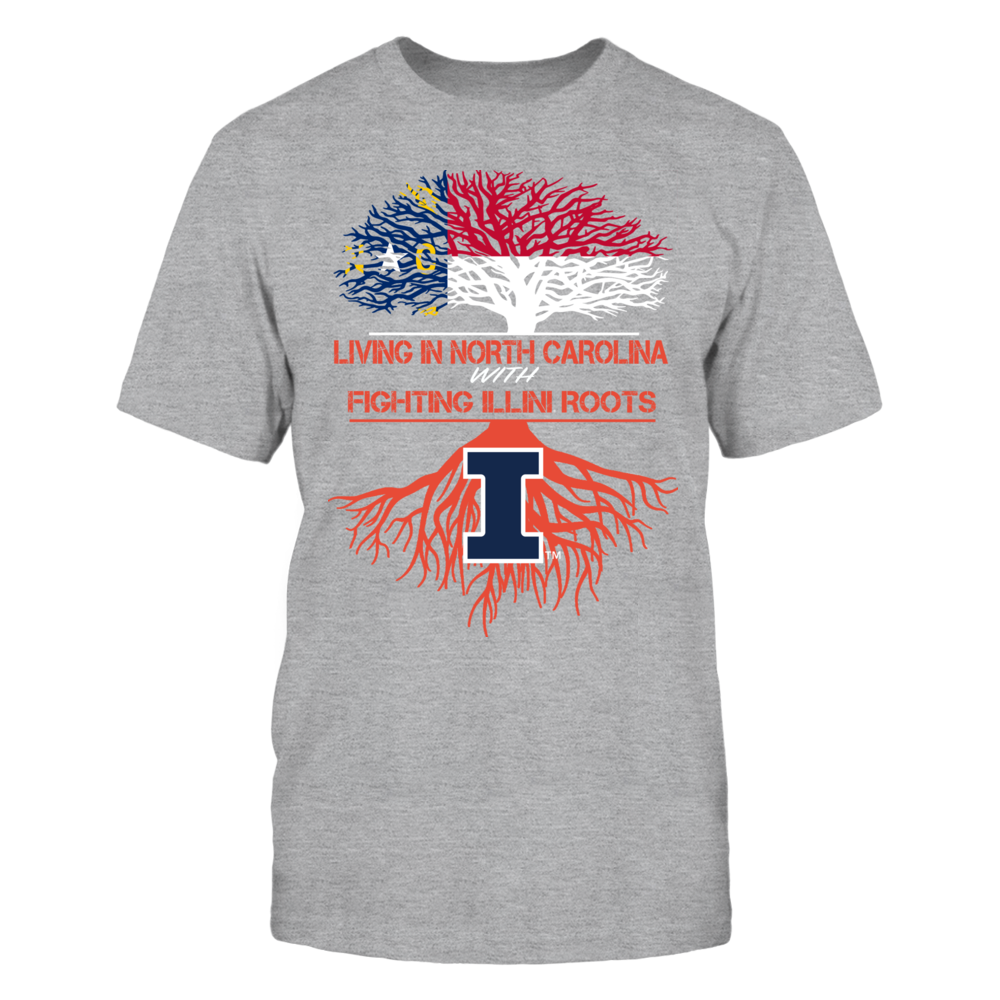 Illinois Fighting Illini - Living Roots North Carolina Front picture