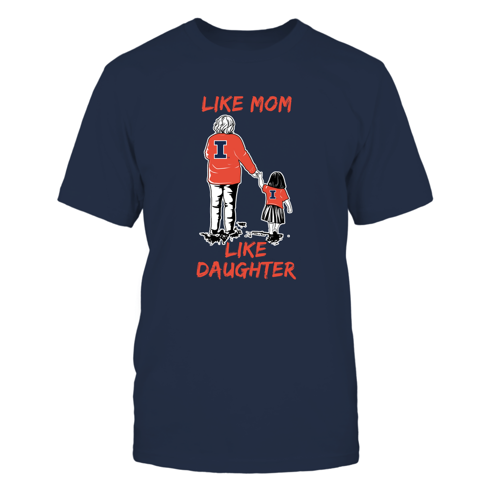 Illinois Fighting Illini - Like Mom Like Daughter Front picture