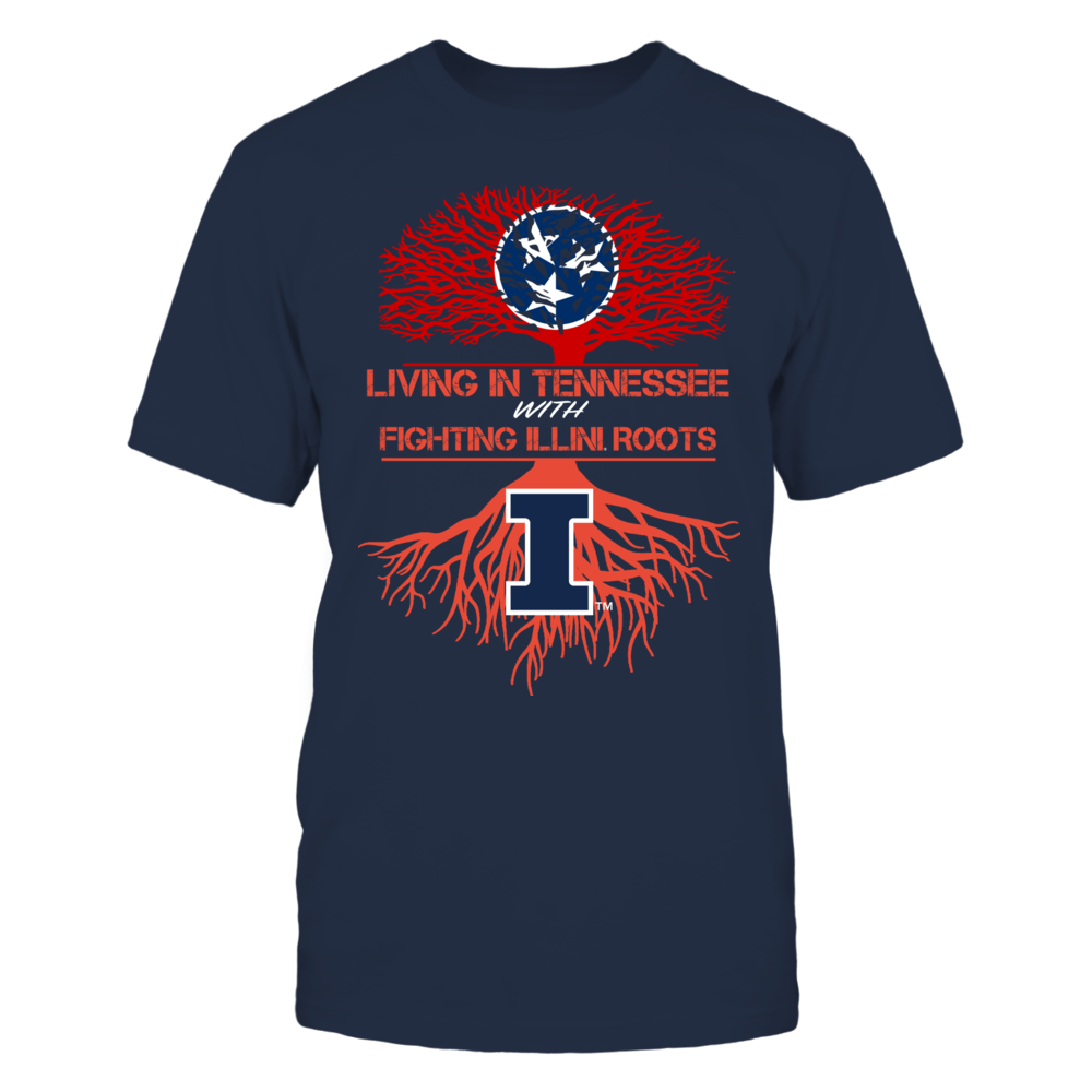Illinois Fighting Illini - Living Roots Tennessee Front picture