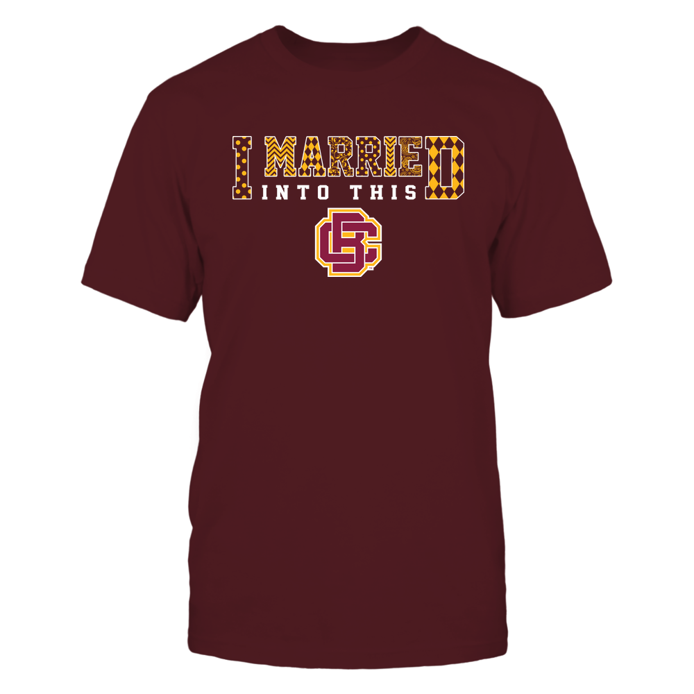 Bethune-Cookman Wildcats - I Married Into This - Pattern Front picture