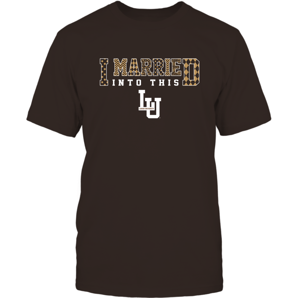 Lehigh Mountain Hawks - I Married Into This - Pattern Front picture