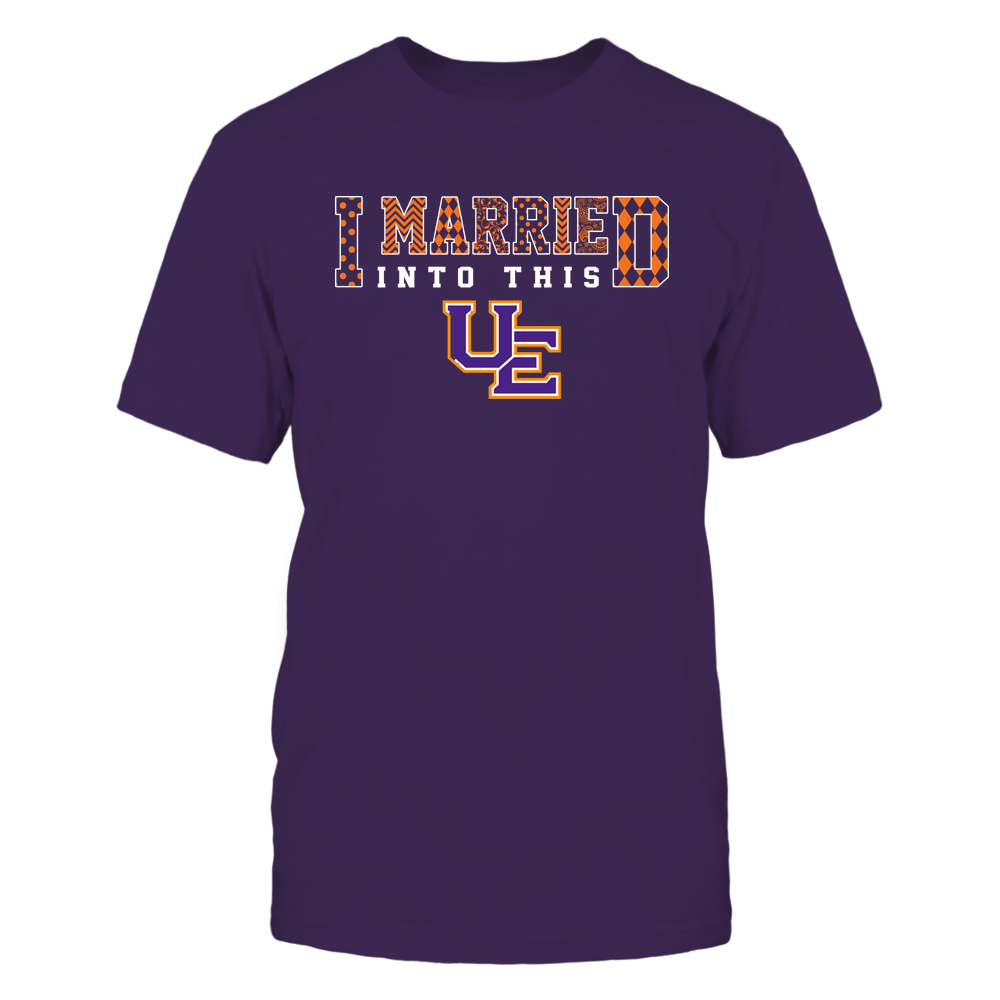 Evansville Purple Aces - I Married Into This - Pattern Front picture