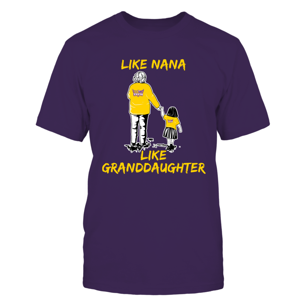 Tennessee Tech Golden Eagles - Like Nana Like Granddaughter Front picture