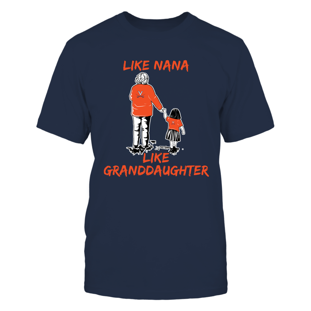 Virginia Cavaliers - Like Nana Like Granddaughter Front picture