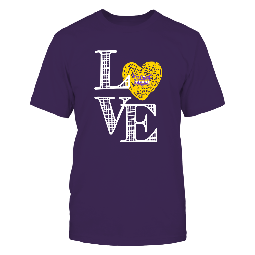 Tennessee Tech Golden Eagles - Love grid - Team Front picture
