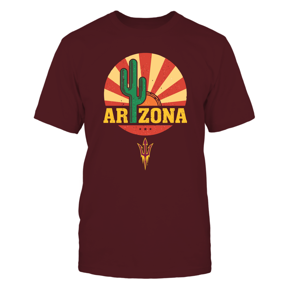 Arizona State Sun Devils - Vintage Cactus State - IF17-IC17-DS64 Front picture