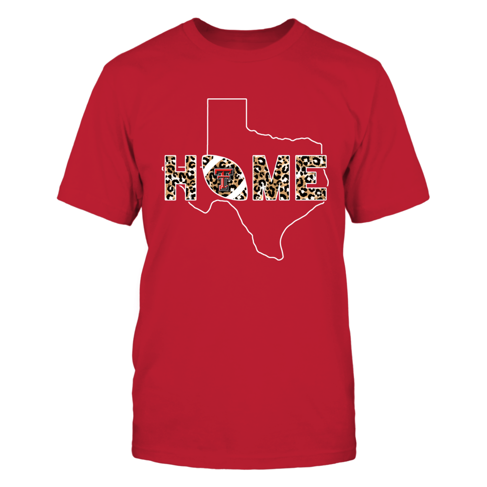 Texas Tech Red Raiders - Home - Football State Outline Leopard - IF13-IC13-DS27 Front picture