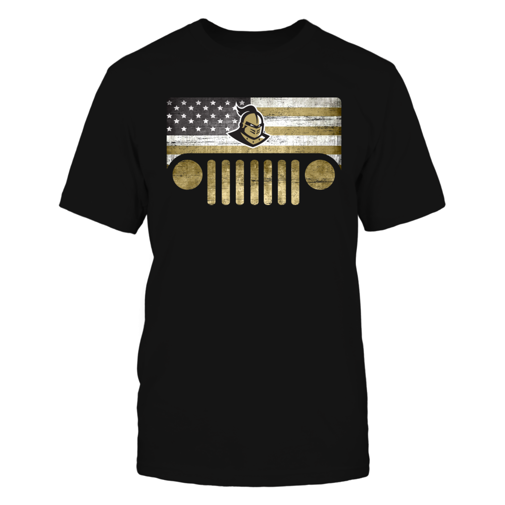 UCF Knights - Jeep - Jeep Logo - Nation Flag - IF13-IC13-DS27 Front picture