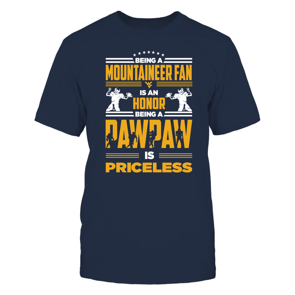 West Virginia Mountaineers - Being A Pawpaw Is Priceless - IF32-IC32-DS37 Front picture
